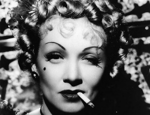 Marlene smoking