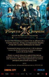 Piratii din Caraibe_24 mai_IMAX Bucuresti_ora 11